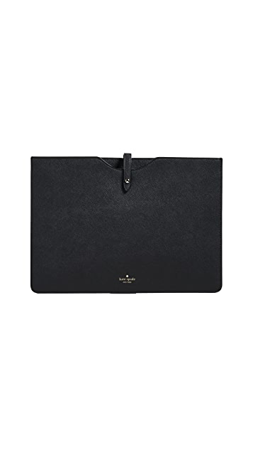 Kate Spade New York 13 Inch Saffiano Slim Laptop Sleeve