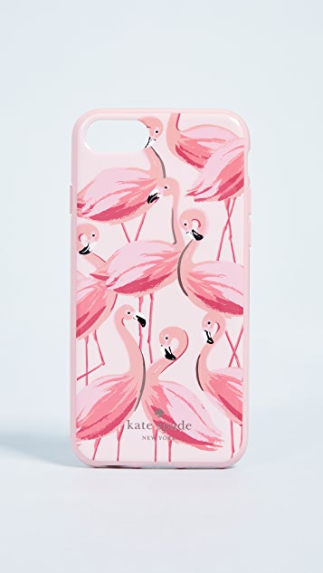 Kate Spade New York Painted Flamingos iPhone 7 / 8 Case