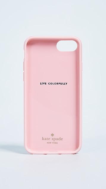 Kate Spade New York Painted Flamingos iPhone 7 / 8 Case