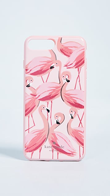 Kate Spade New York Painted Flamingos iPhone 8 Plus / 7 Plus Case