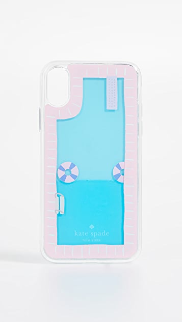 Pool and Floaties iPhone X Case