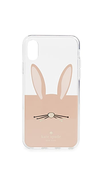 Kate Spade New York Rabbit iPhone X Case