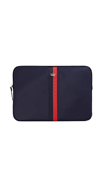 Kate Spade New York Varsity Stripe Universal Laptop Sleeve