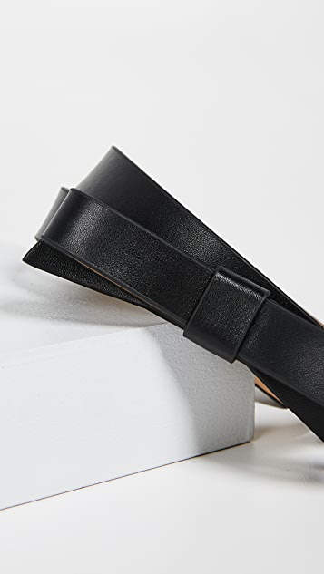 Kate Spade New York Leather Bow Belt