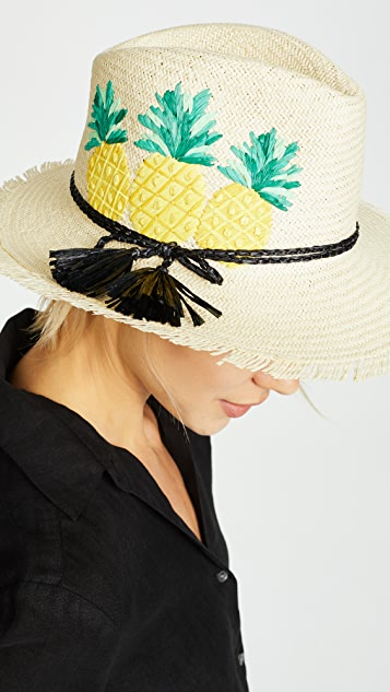 Kate Spade New York Pineapple Trilby Hat