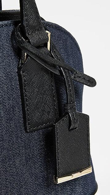 Kate Spade New York Denim Small Lottie Bag
