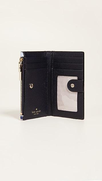 Kate Spade New York Cameron Street Daisy Garden Mikey Wallet