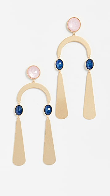 Kate Spade New York Sunshine Stones Mobile Statement Earrings