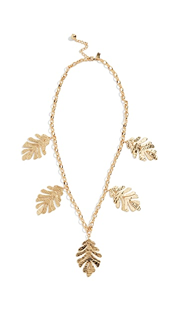 Kate Spade New York A New Leaf Statement Necklace