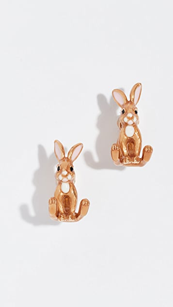 Kate Spade New York Desert Muse Bunny Ear Jackets Earrings