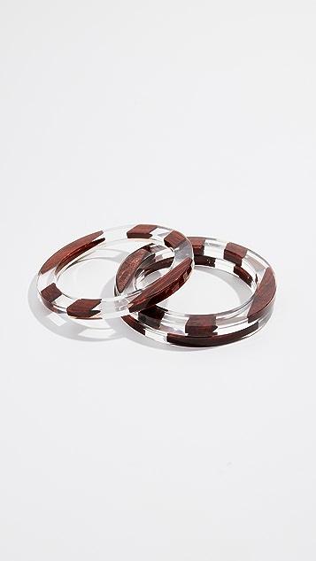 Kate Spade New York Slice Of Stone Bangle Bracelets Shopbop