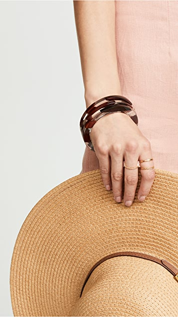 Kate Spade New York Slice Of Stone Bangle Bracelets