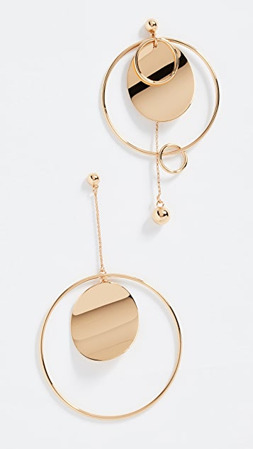 Kate Spade New York Gold Standard Asymmetrical Earrings