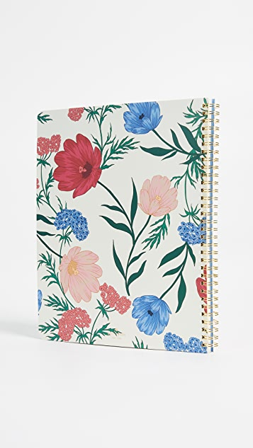 Kate Spade New York Blossom Large Spiral Notebook