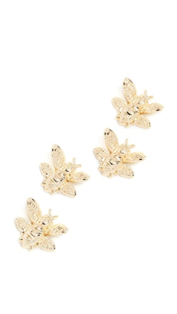 Kate Spade New York Bee Magnet Set