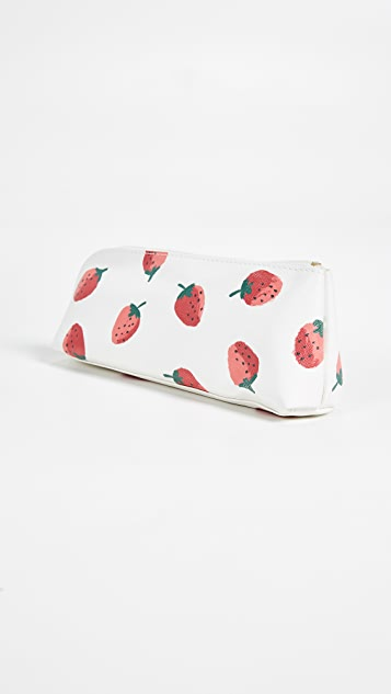 Kate Spade New York Strawberries Pencil Case