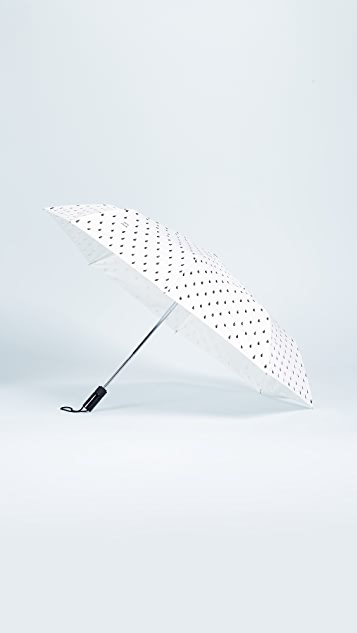 Kate Spade New York Raindrop Travel Umbrella