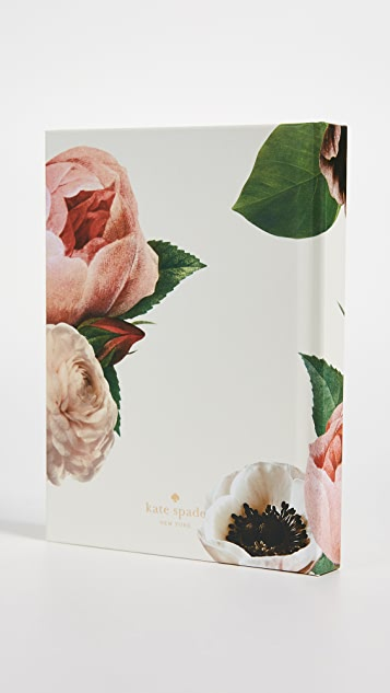 Kate Spade New York Blushing Floral Gift Log