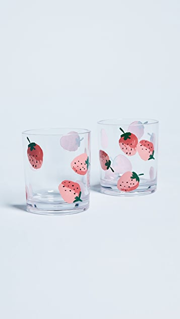 Kate Spade New York Strawberries Drinkware