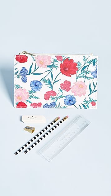 Kate Spade New York Blossom Pencil Pouch