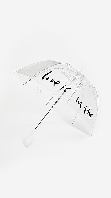 Kate Spade New York Прозрачный зонт Love Is in the Air