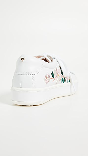 Kate Spade New York Amber Floral Sneakers