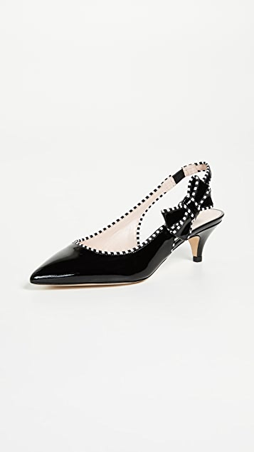 Kate Spade New York Ollie Slingback Pumps with Kitten Heel