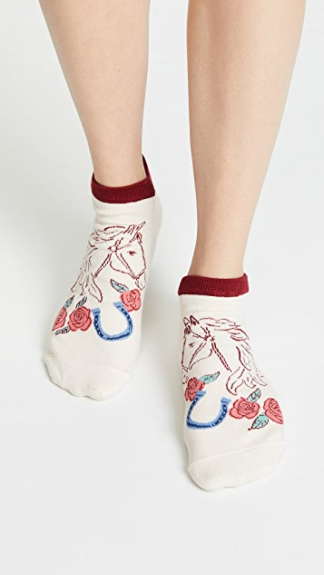 Kate Spade New York Howdy No Show Socks 3Pack