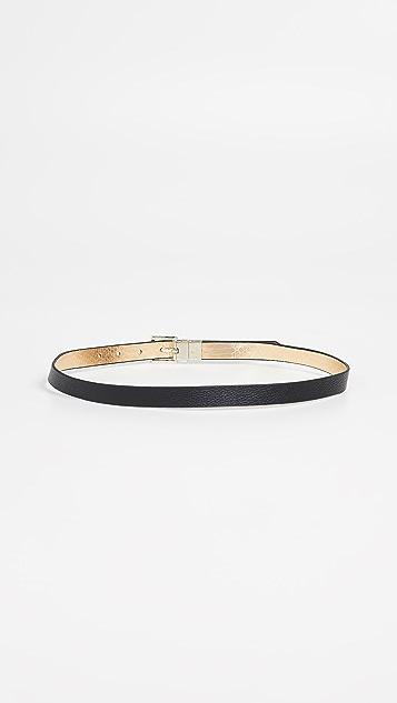 Kate Spade New York Metallic Snake Reversible Belt