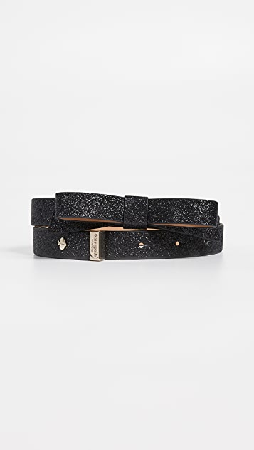 Kate Spade New York Glitter Bow Belt
