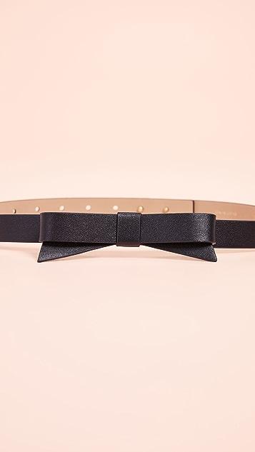 Kate Spade New York Smooth Bow Belt