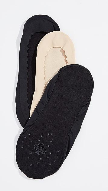 Kate Spade New York Scallop Second Skin Socks 3 Pack