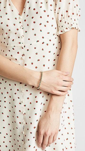 Kate Spade New York Ball Hinged Bangle Bracelet