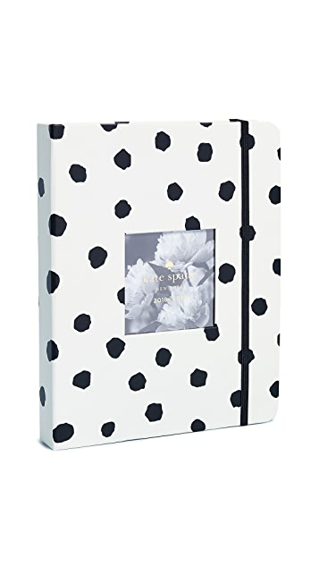 Kate Spade New York Spotty Large August to August Agenda Planner