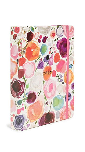Kate Spade New York Floral Large Full Year Agenda