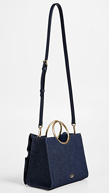 Kate Spade New York White Rock Road Denim Sam Tote