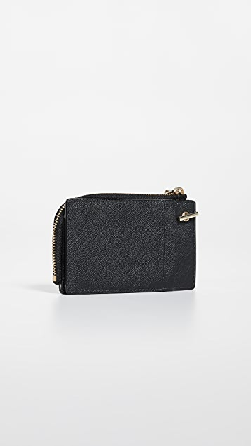 Kate Spade New York Cameron Street Ivey Card Case with Key Ring
