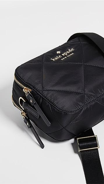 Kate Spade New York Watson Lane Quilted Amber Camera Bag