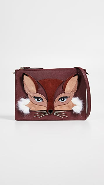 Kate Spade New York So Foxy Fox Clarise Crossbody Bag