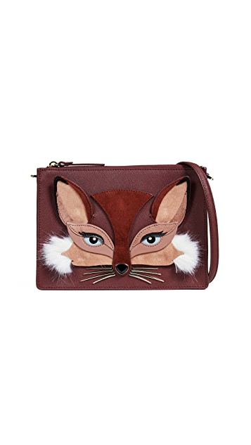 Kate Spade New York So Foxy Fox Clarise Crossbody Bag