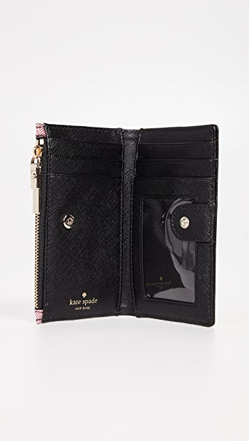 Kate Spade New York Cameron Street Rustic Plaid Mikey Wallet