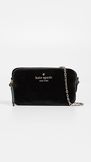 Kate Spade New York Thompson Street Velvet Camera Bag