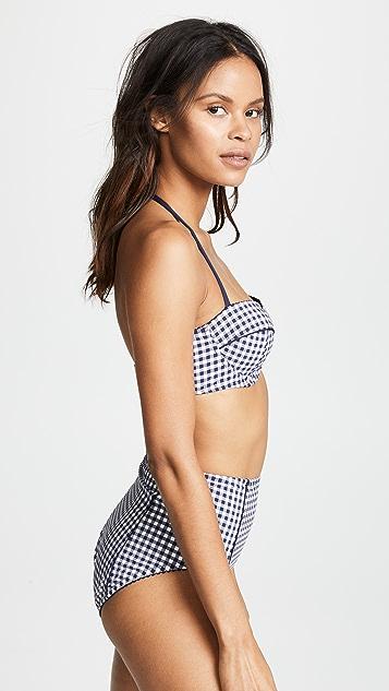 Kate Spade New York Crosby Landing Underwire Bikini Top