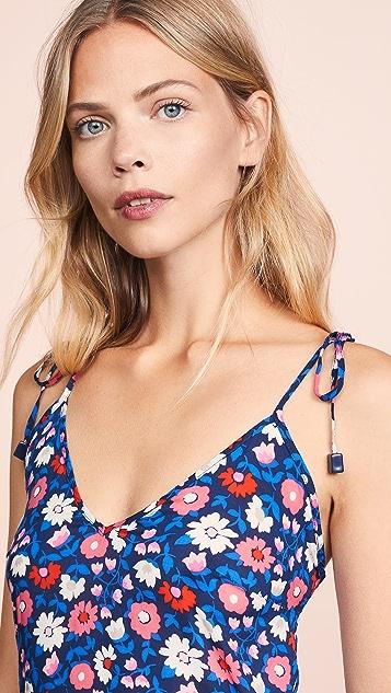 Kate Spade New York Botany Bay 罩衫式短款连身衣