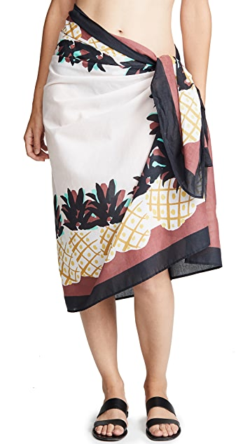 Kate Spade New York Laniakea Beach Pareo Sarong