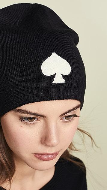 Kate Spade New York Spade Beanie Hat