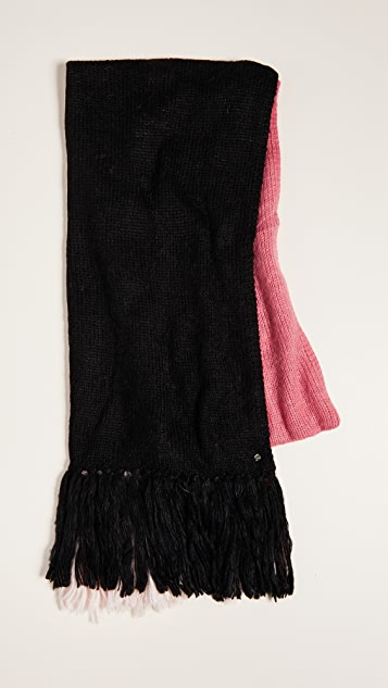Kate Spade New York Brushed Colorblock Blanket Scarf