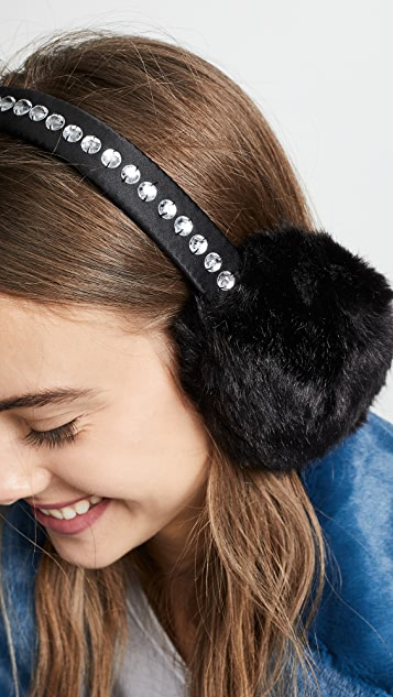 Kate Spade New York Bedazzled Ear Muffs