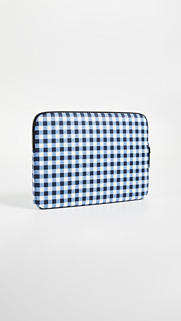 Kate Spade New York Gingham Universal Laptop Sleeve