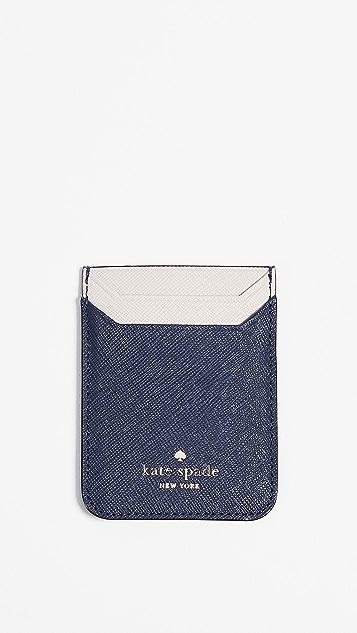 Kate Spade New York Triple Sticker Phone Pocket
